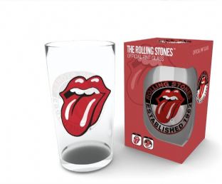 ROLLING STONES (THE) TONGUE PINT GLASS (New/Box) (PG006)